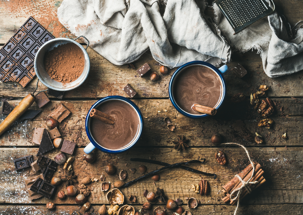 alimentos que tienen gluten: cacao, dulces y helados