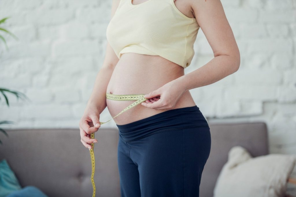 cambios en el cuerpo materno: cuántas libras cada cuarto