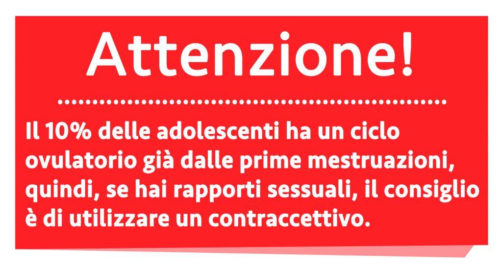 ciclo menstrual en la adolescencia: atención embarazo