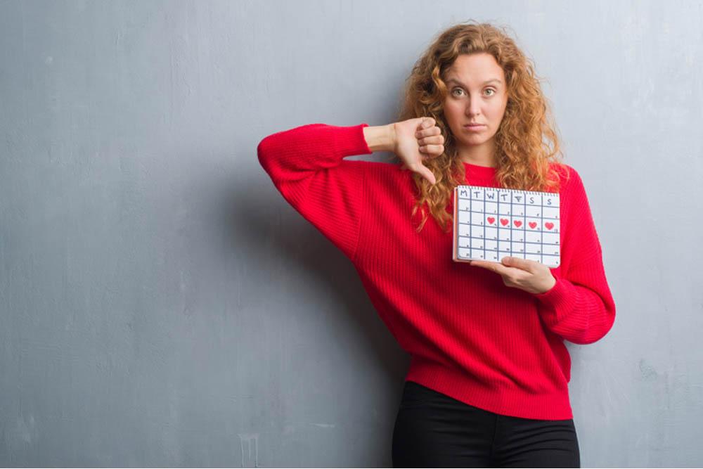 cómo manejar el ciclo irregular de la menstruación