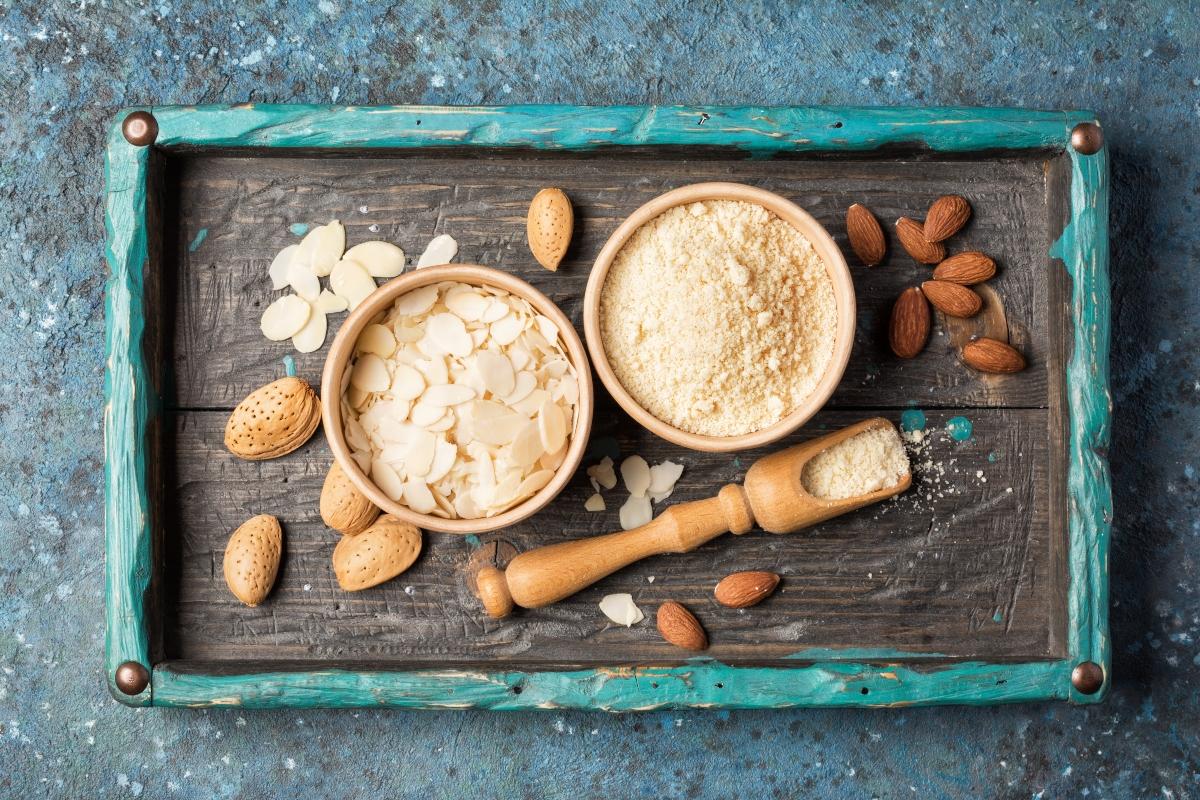 alimentos ricos en antioxidantes: almendras