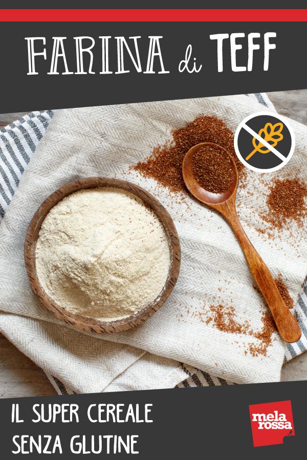 harina de teff para celíacos