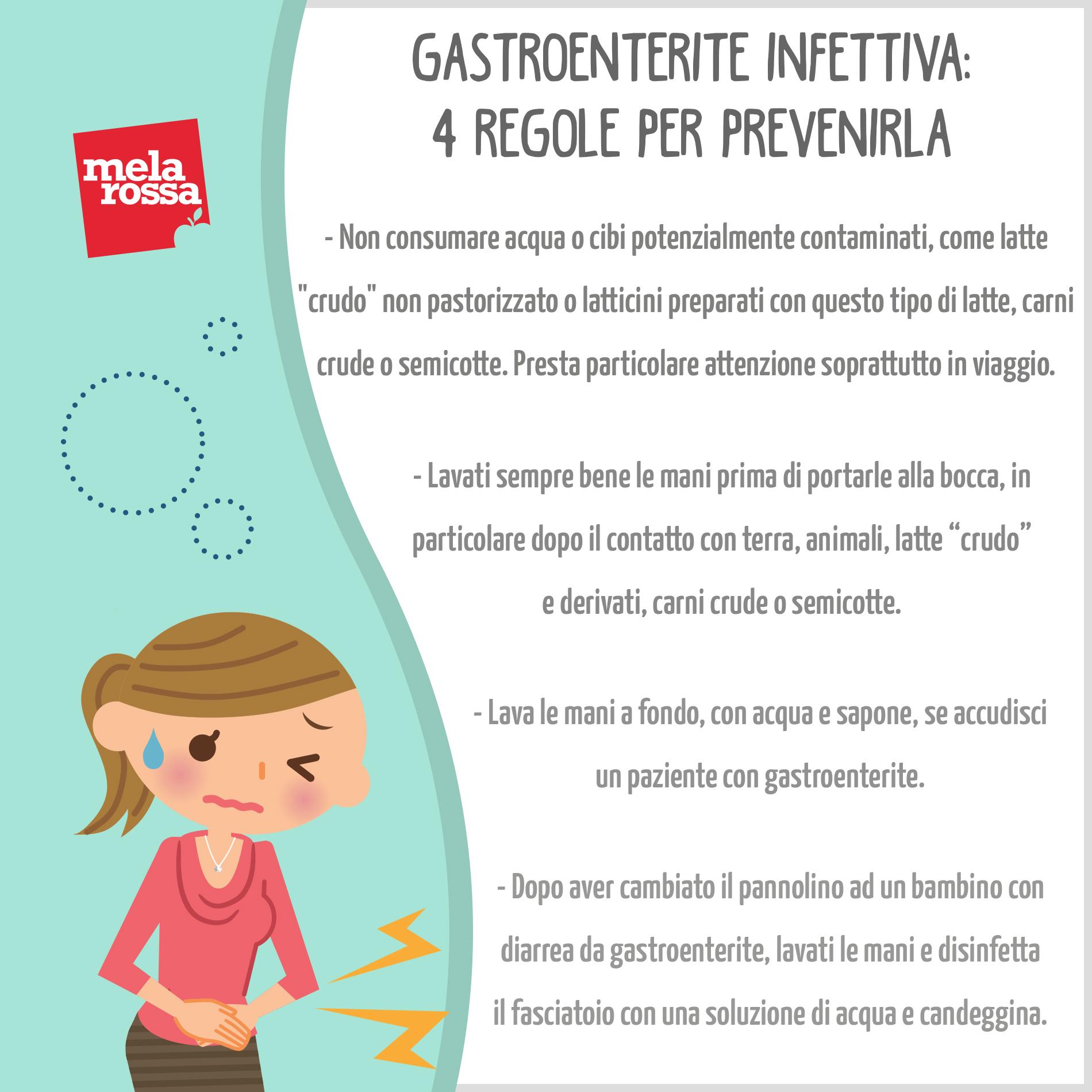Gastroenteritis infecciosa: 4 reglas para prevenirla