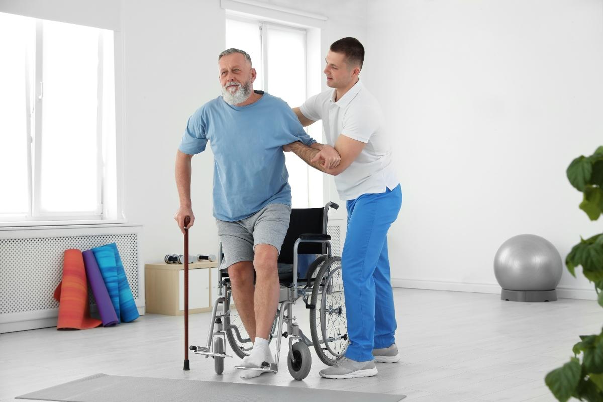 accidente cerebrovascular: rehabilitación