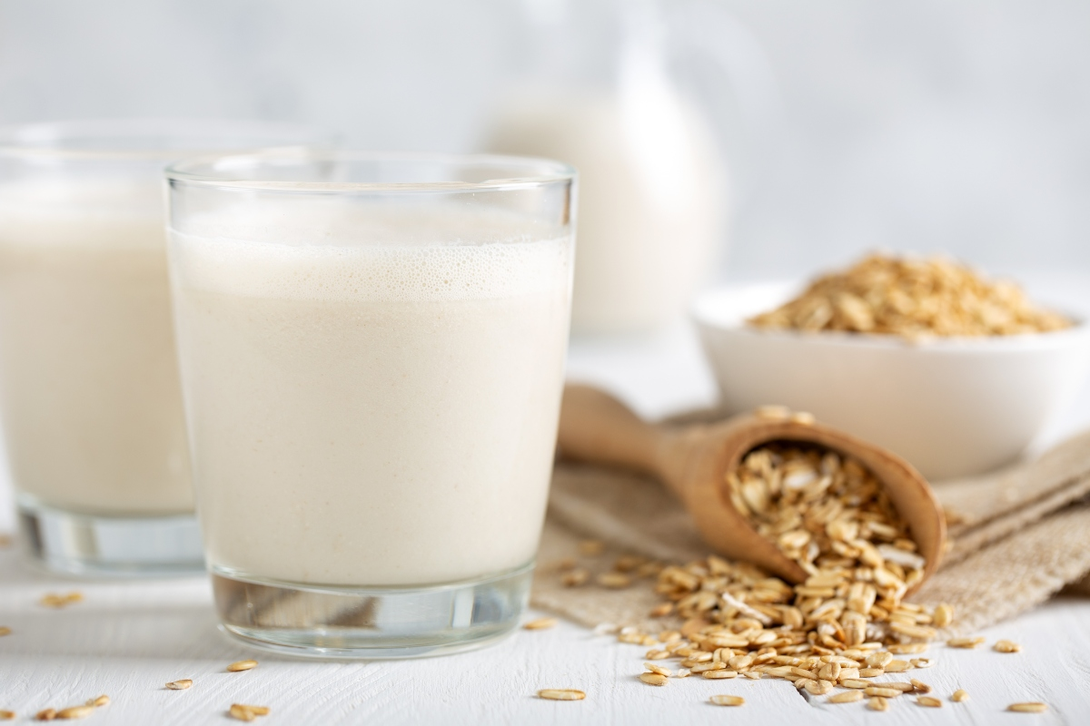 Leche de avena sin gluten: beneficios