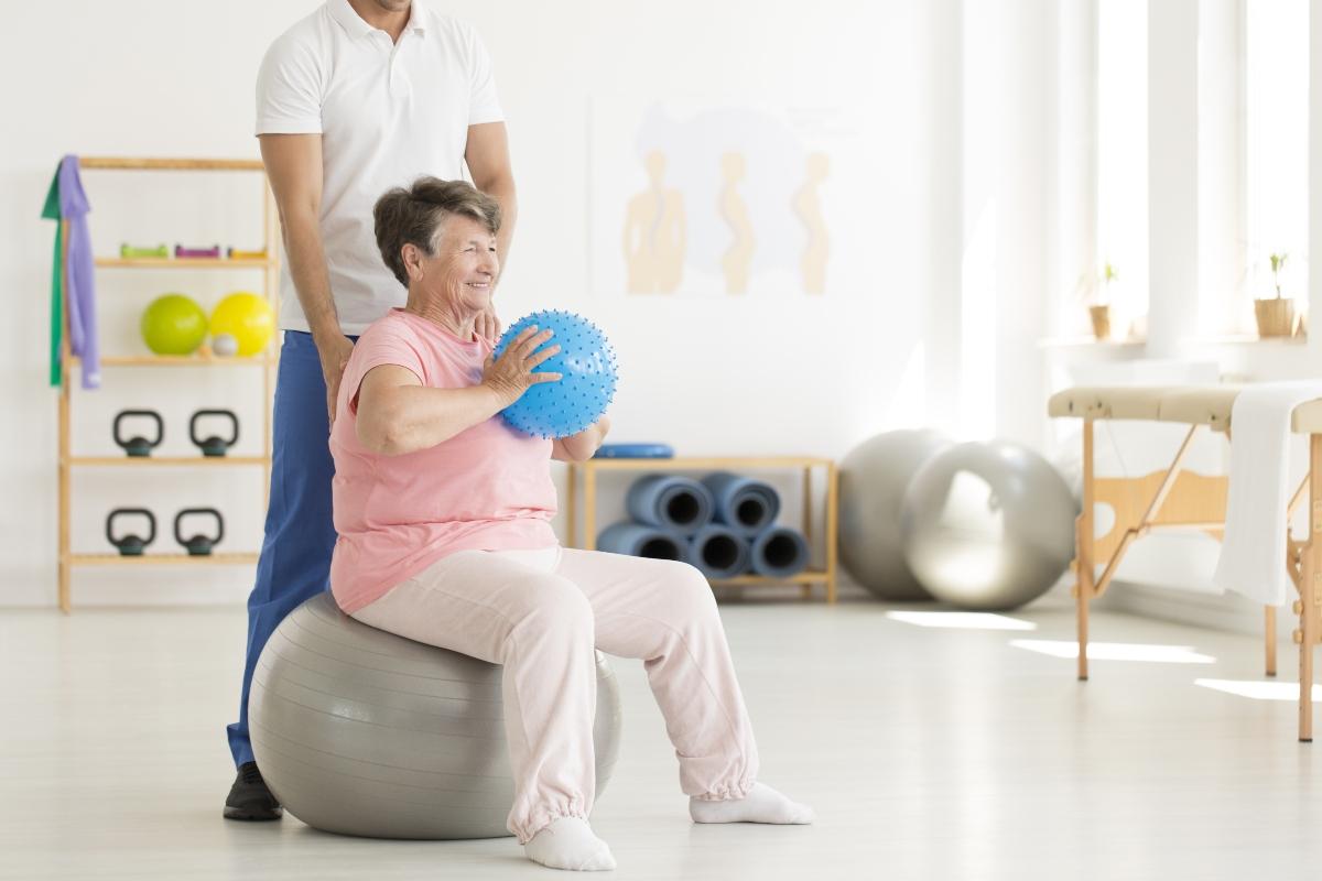 Parkinson: terapia de rehabilitación