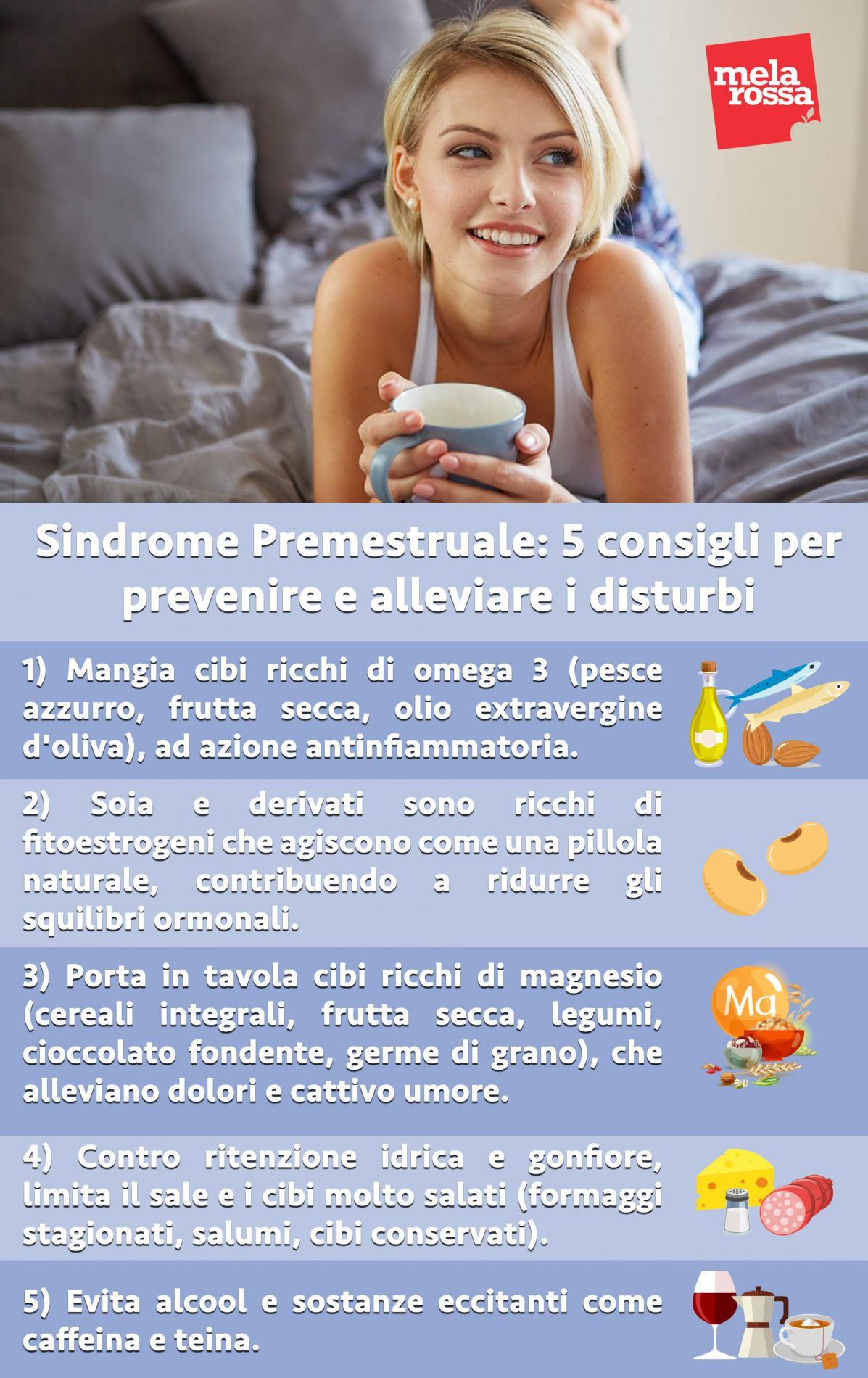 Consejos para el síndrome premenstrual, aliviar y prevenir trastornos