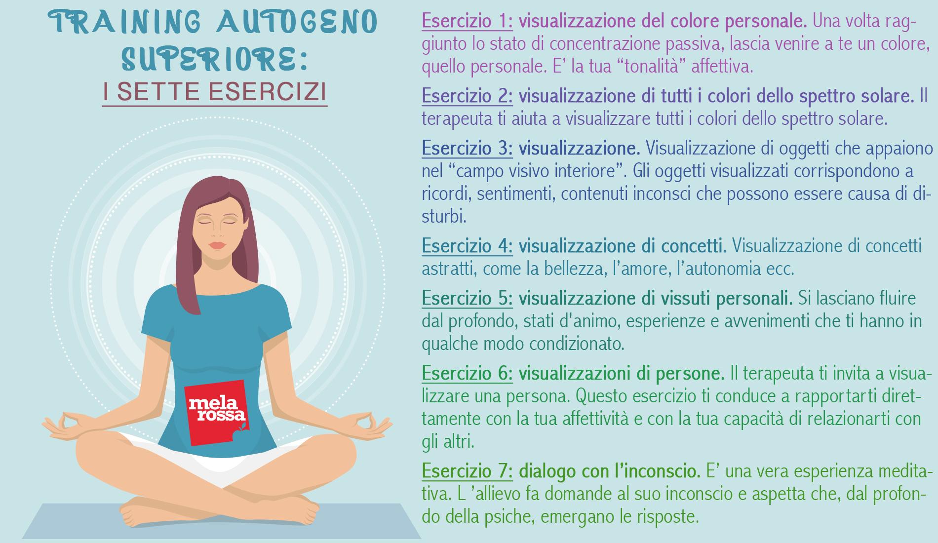 7 ejercicios de entrenamiento autógeno