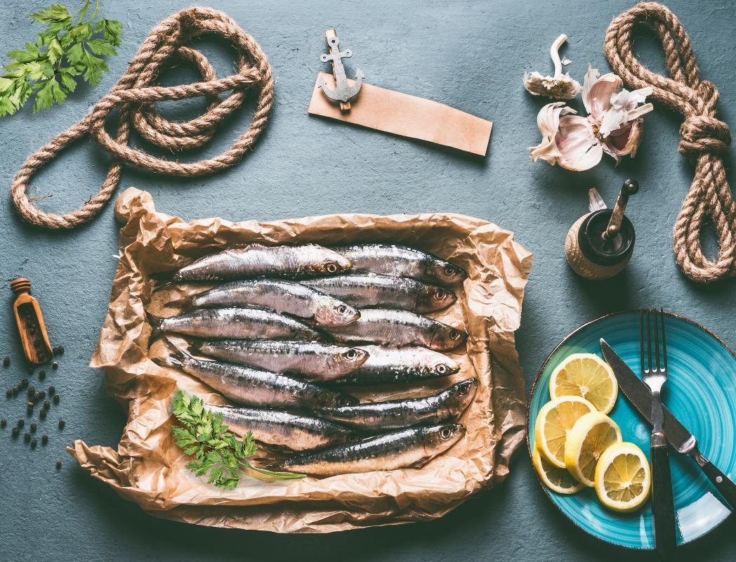 consumo de sardinas: esclerosis múltiple